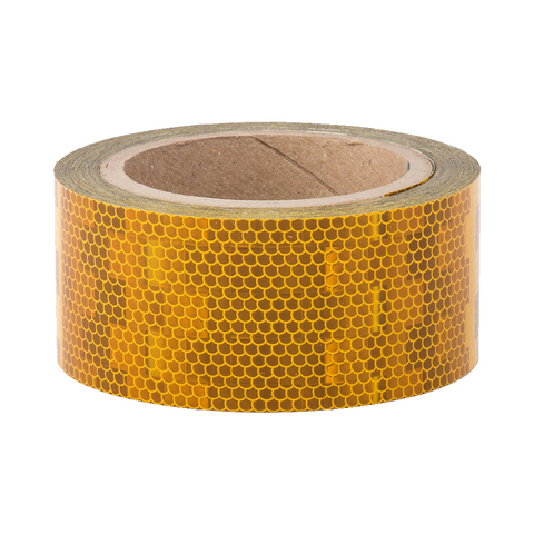 Avery V-6700 Yellow Rigid Conspicuity Tape 12.5 Meter Roll - ConspicuityTape.co.uk