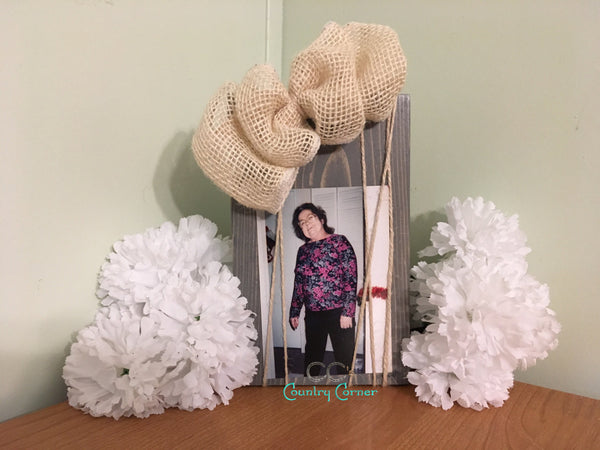 Wood Photo Frame | Grey Stain