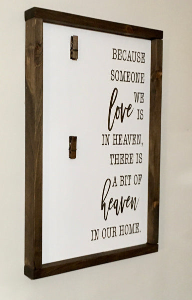 Farmhouse Memorial Sign