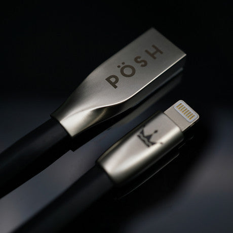 PÖSH UNO Universele kabel voor Apple en Micro USB - 2 meter rose