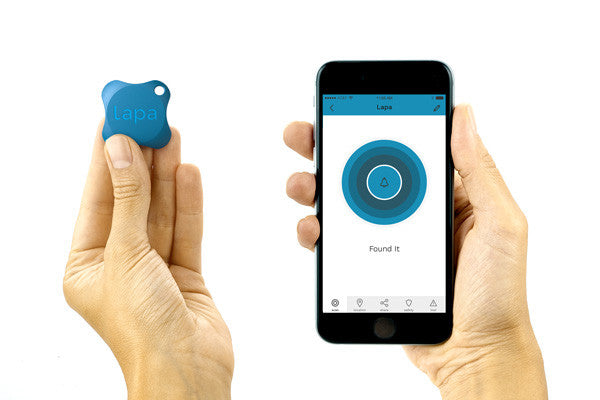 Lapa2 Bluetooth tracker/finder zwart