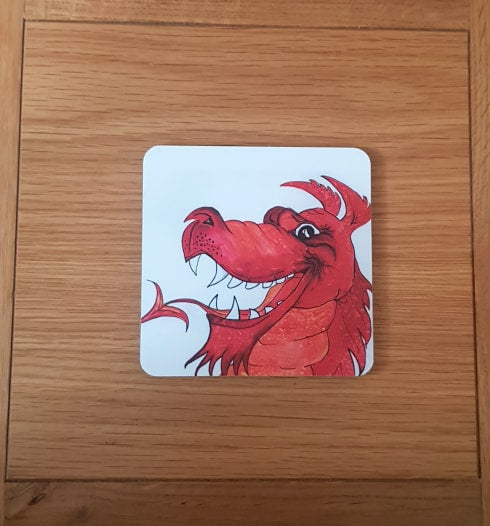 Welsh Inspired Coaster
