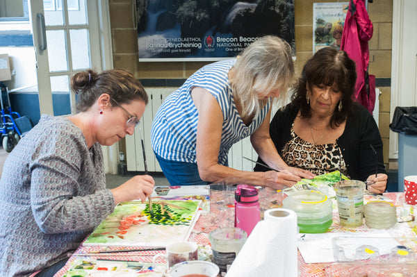 Art in the Park - Painting WORKSHOP - Saturday 26th October 2019 - 10am-4pm