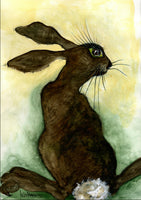 'Wish You Were 'Hare'' Print