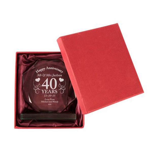 40th Anniversary Gift - CalEli Gifts