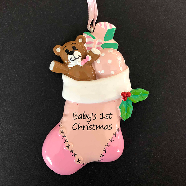 Baby's First Christmas Tree Decoration - CalEli Gifts