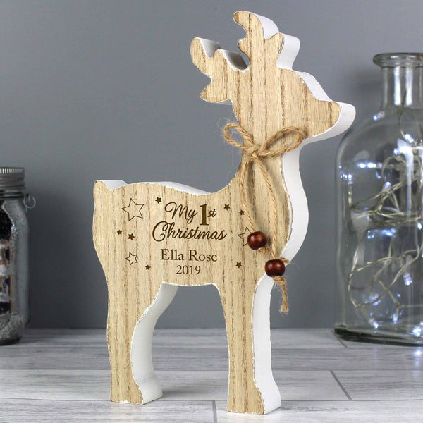 First Christmas Reindeer Decoration - CalEli Gifts