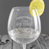 Christmas Gin Glass - CalEli Gifts