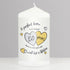 Golden Anniversary Candle - CalEli Gifts
