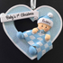 First Christmas Baby Boy Heart - CalEli Gifts
