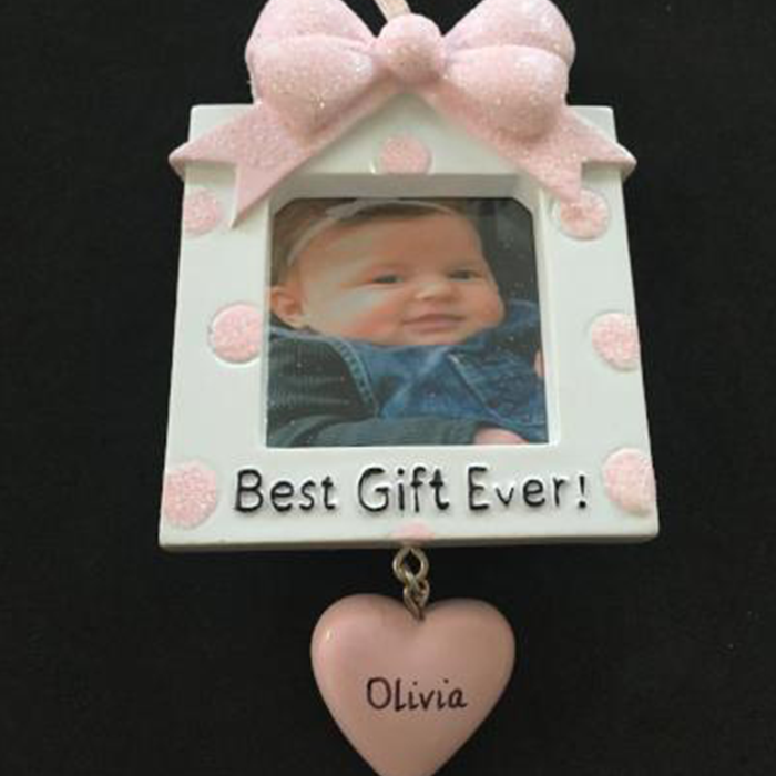 Baby Photo Frame Hanging Decoration - CalEli Gifts