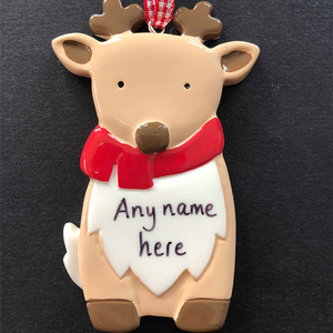 Baby Reindeer Tree Decoration - CalEli Gifts