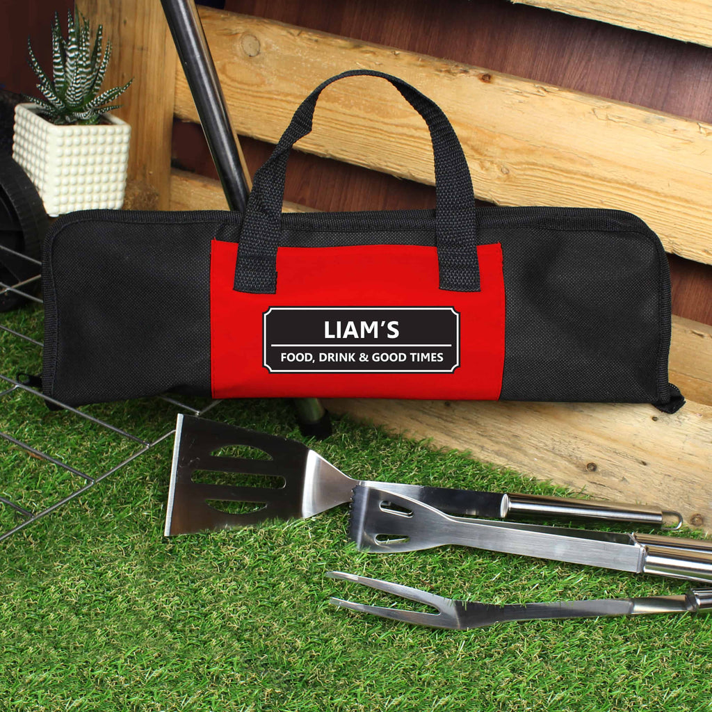 personalised bbq set from CalEli Gifts