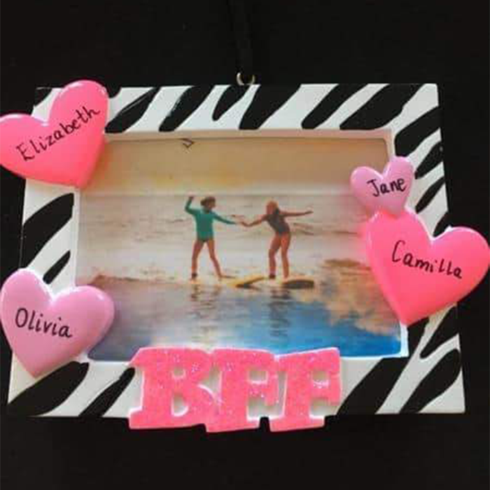 Best Friends Forever Photo Decoration