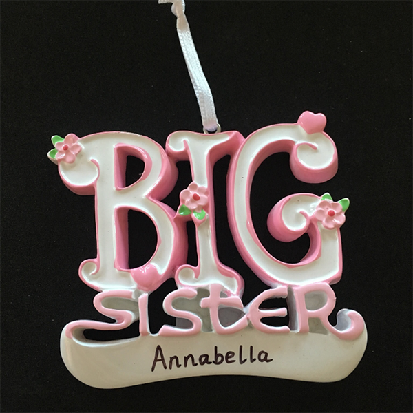 Big Sister Hanging Decoration - CalEli Gifts