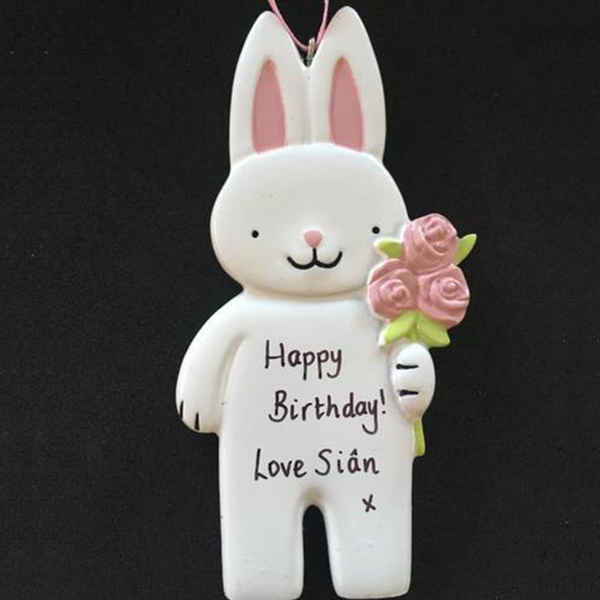 Bunny Decoration - CalEli Gifts