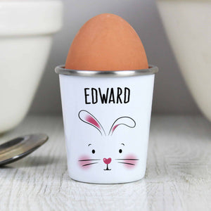 personalied easter bunny egg cup