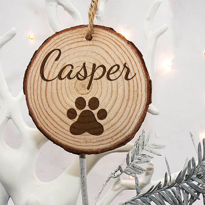 Cat Pawprint Decoration
