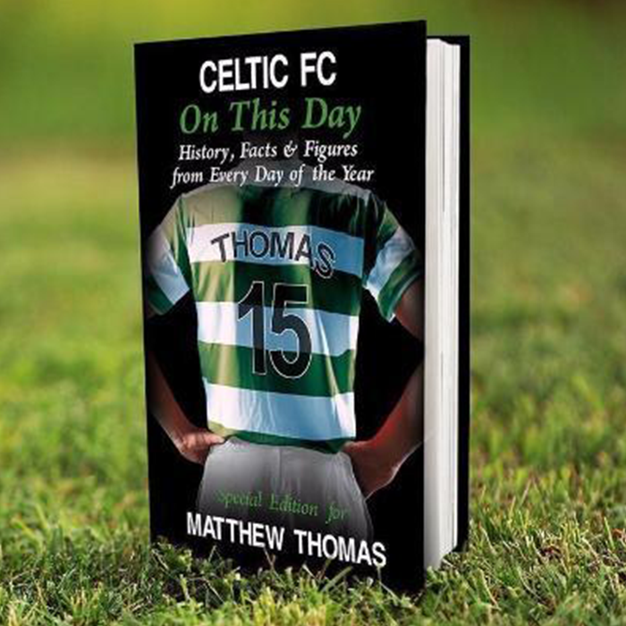 Celtic Football Book - CalEli Gifts