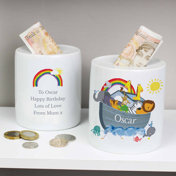 Personalised Ceramic Money Box