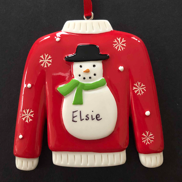 Christmas Jumper Decoration - CalEli Gifts