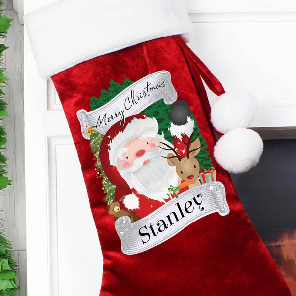 Santa Stocking - CalEli Gifts