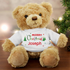Christmas Teddy Bear - CalEli Gifts