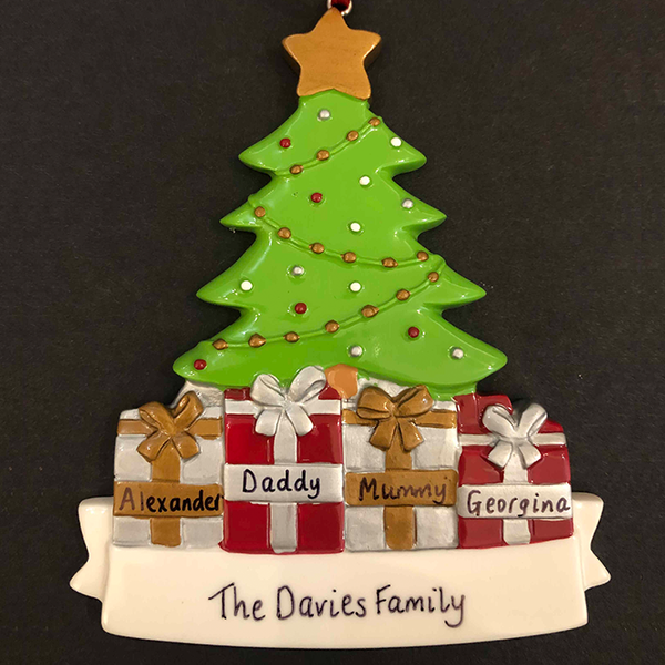 Christmas Tree Decoration - CalEli Gifts