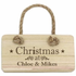 Christmas Wooden Sign - CalEli Gifts