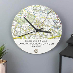Compass Clock - CalEli Gifts