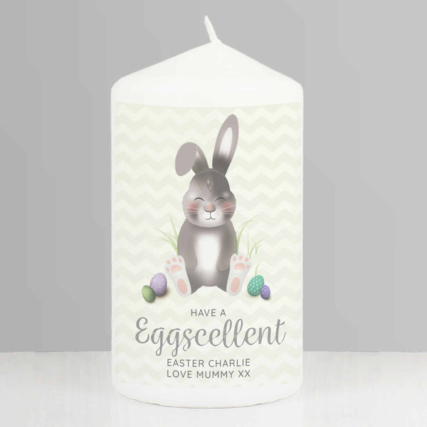 Easter Bunny Candle.