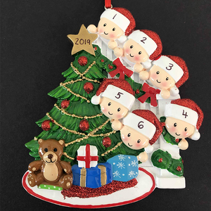 Family Decoration for 2-6 people - CalEli Gifts