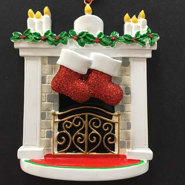 Fireplace Christmas Decoration - CalEli Gifts