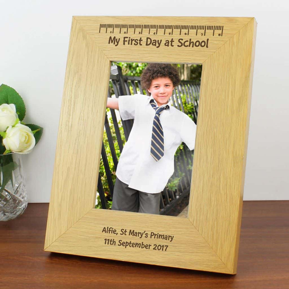 First Day At School Picture Frame