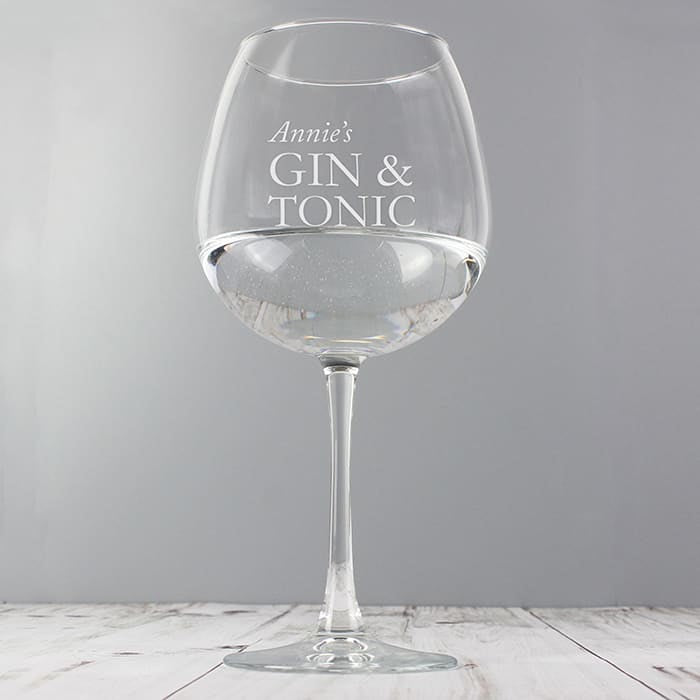 Gin and Tonic Glasses - CalEli Gifts
