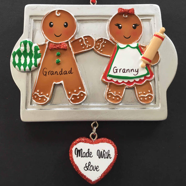 Gingerbread Tree Decoration - CalEli Gifts
