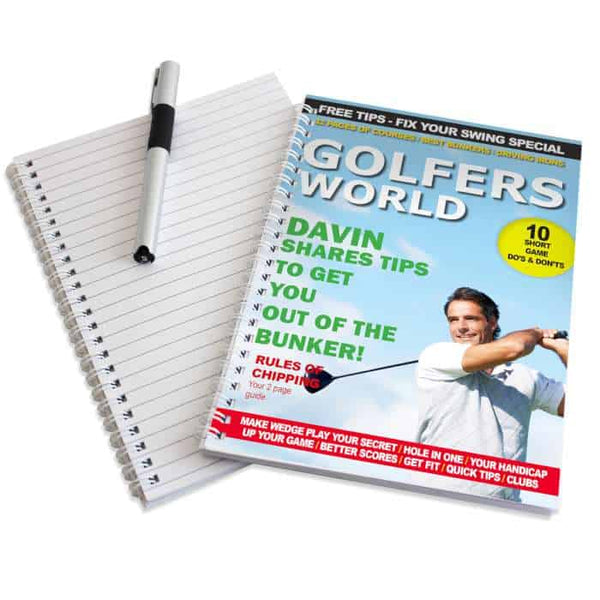 Golfers Notebook - CalEli Gifts