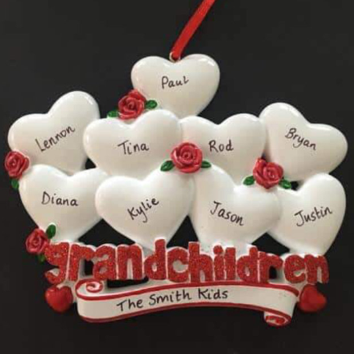 Grandchildren Ornament - CalEli Gifts