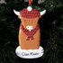 Highland Cow Ornament - CalEli Gifts