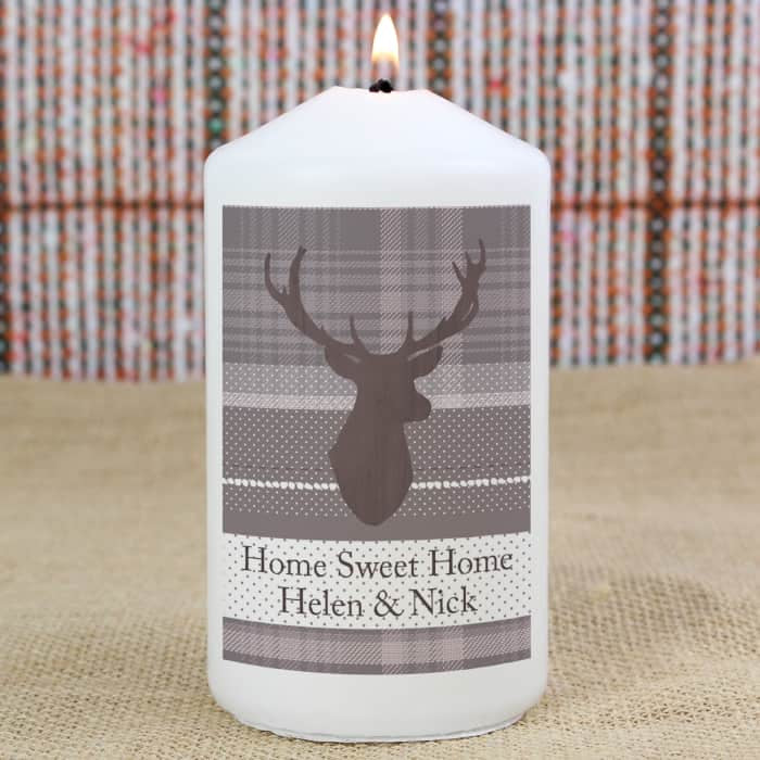 Highland Stag Candle