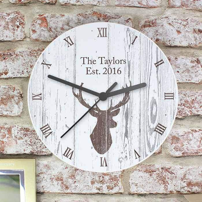 Highland Stag Clock - CalEli Gifts