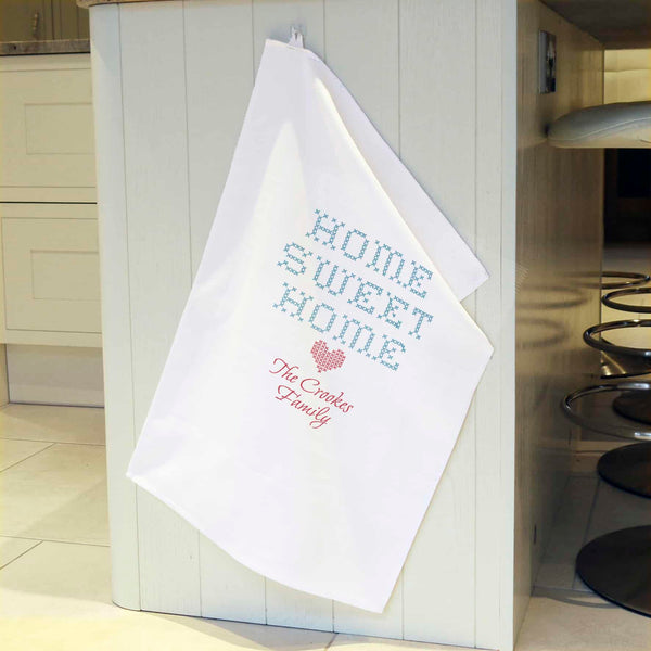 Home Sweet Home Tea Towel - CalEli Gifts