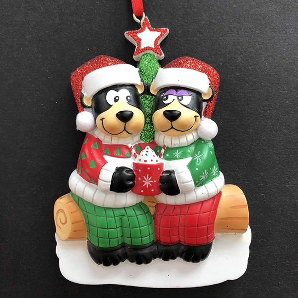 Hot Chocolate Bears Decoration - CalEli Gifts