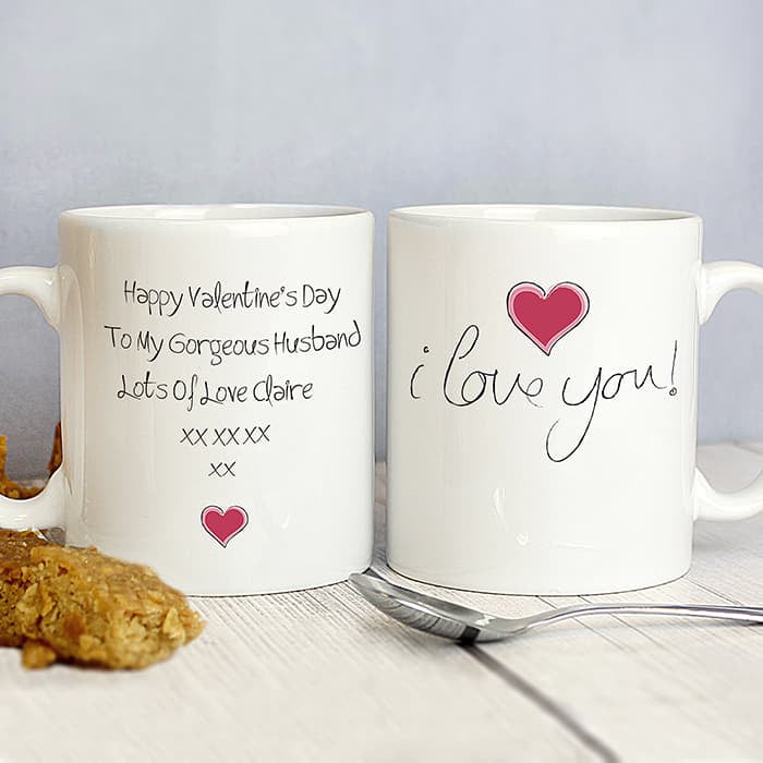 I Love You Mug - CalEli Gifts