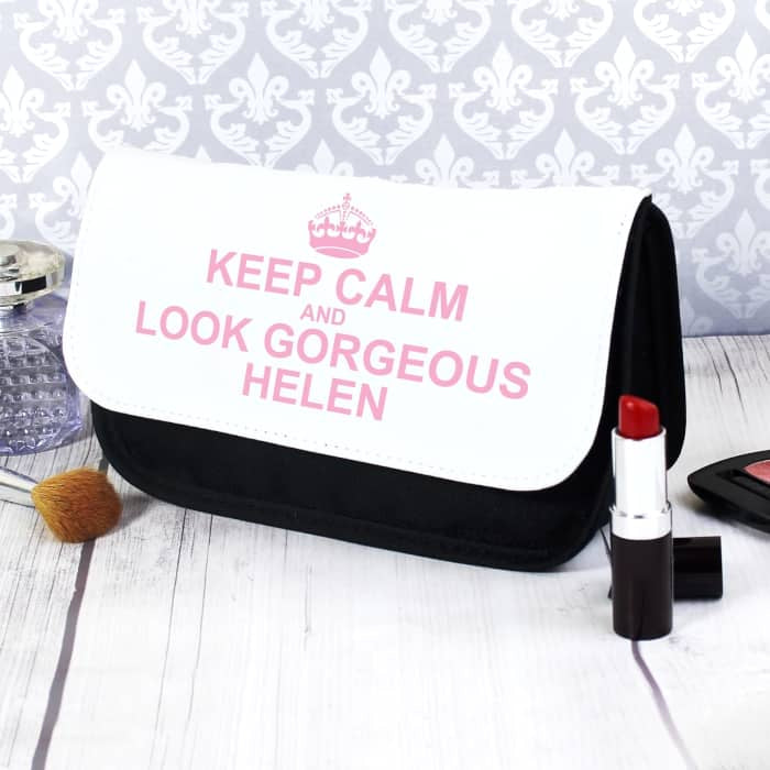 Keep Calm Make Up Bag