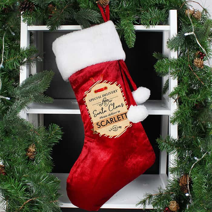 Luxury Christmas Stocking