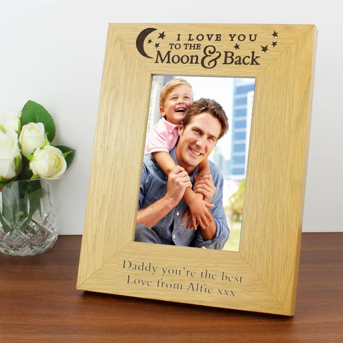 Moon & Back Photo Frame