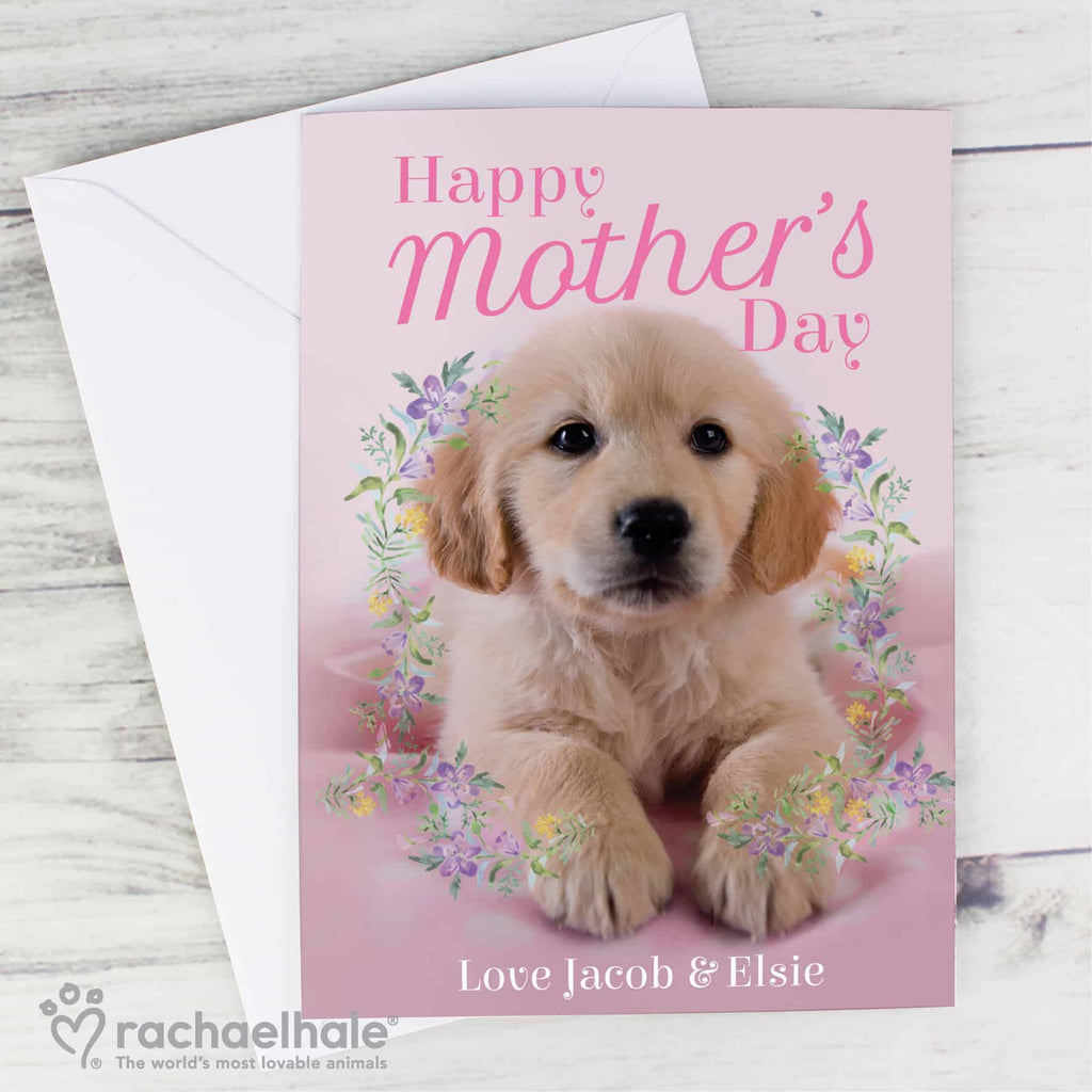 personalised Mother's Day Card from Edinburgh Gift Company, CalEli Gifts