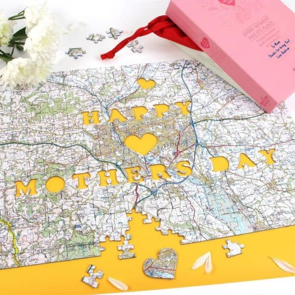 Mother's Day Jigsaw Map