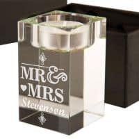 Mr and Mrs Tealight Holder - CalEli Gifts